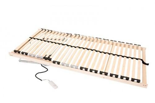 lattenrost elektrisch verstellbar 90x200 5 liegezonen ebay. Black Bedroom Furniture Sets. Home Design Ideas
