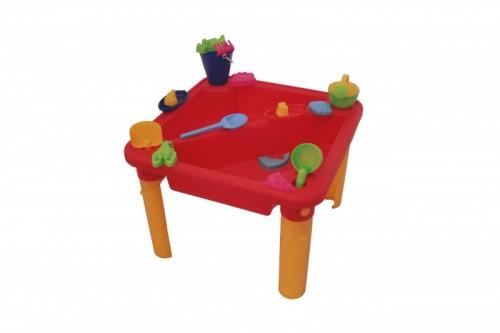 gro er sand und wasser spieltisch mit tischplatte zubeh r. Black Bedroom Furniture Sets. Home Design Ideas