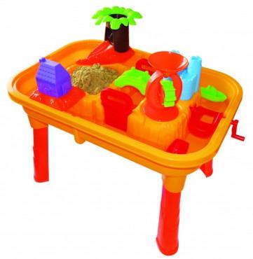 sand und wasser spieltisch maltisch mit tischplatte und. Black Bedroom Furniture Sets. Home Design Ideas